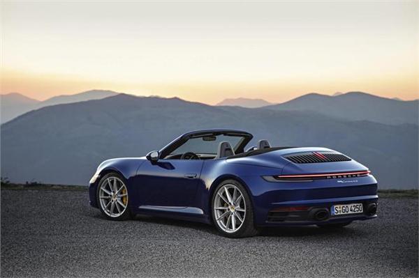 全新911敞篷版开启预售 售价165.8万起